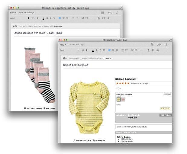 Organização para Mães - Catálogo de roupas para comprar