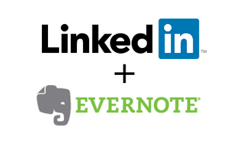Linkedin Evernote - Evernote Webclipper