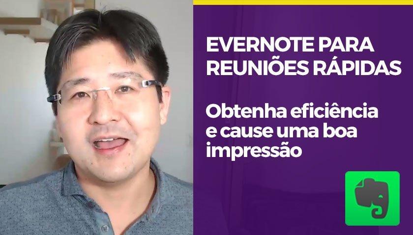 Preparado em qualquer lugar: faça uma pauta para reunião rápida no Evernote