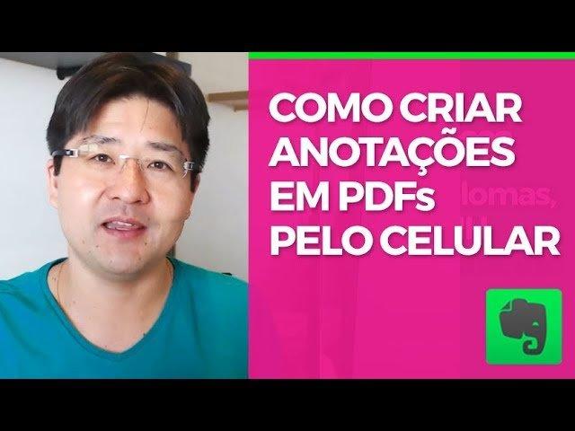 Anote em PDF's com o Evernote