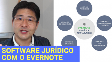 Software Jurídico com o Evernote