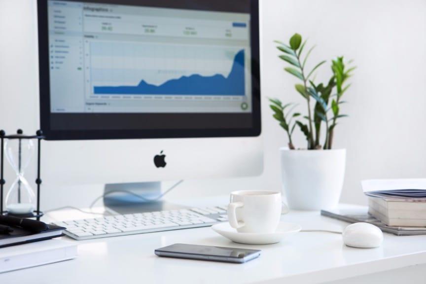 Organizar as Finanças - Gráficos prontos ajudam na análise sem perda de tempo.