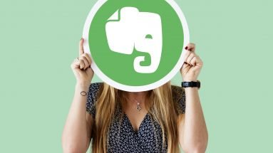Encontre e-mails no Evernote