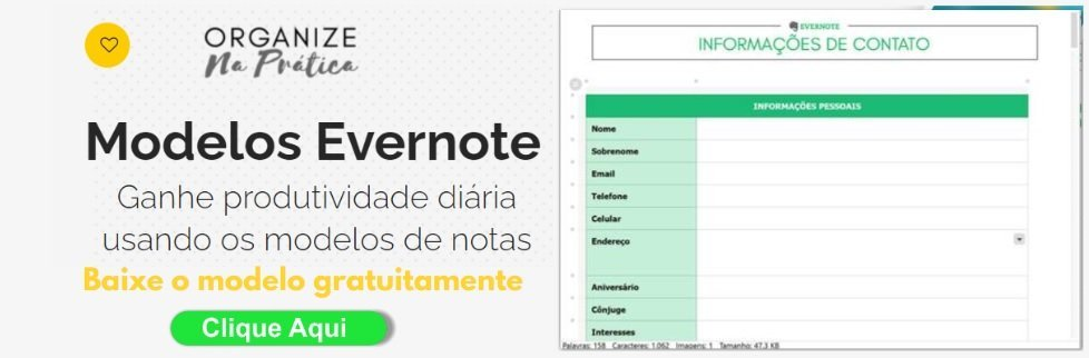 modelo sistema CRM gratuito Evernote