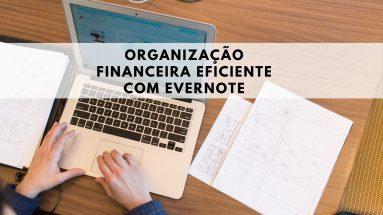 ORGANIZAÇÃO FINANCEIRA COM O EVERNOTE