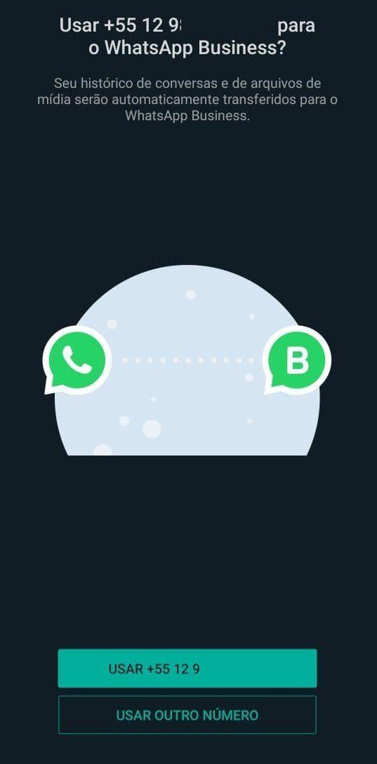 Configurar número