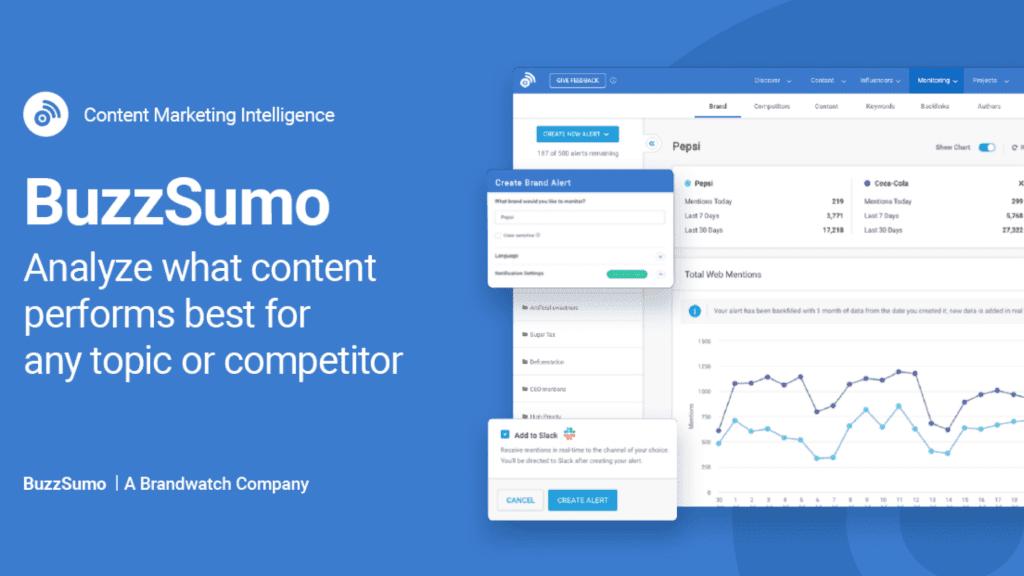 Buzzsumo - ferramenta de marketing