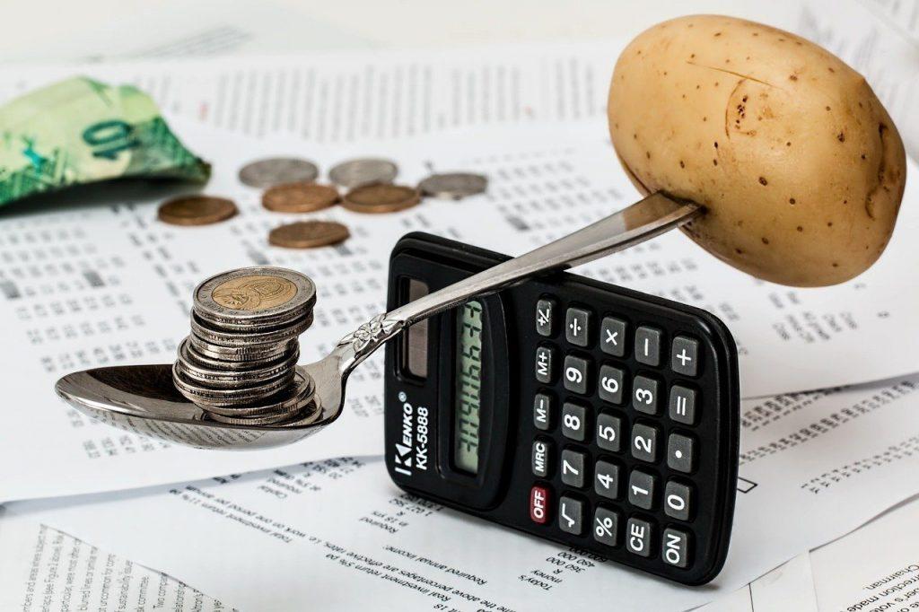 Organização financeira controle seus gastos com planejamento